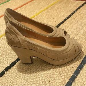 Frye Leather Shoes Heel